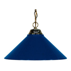 Z-Lite - Z-Lite Pendant Light X-BNM-BP1-551 - Simple styling defines this Pendant Light. Finished in polished brass, this fixture uses a metal navy blue shade to create a classic look. This fixture includes 36'' of chain to suit any hanging height.