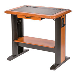 Caretta Standing Computer Desk, Without Table Top Lectern, Standing Computer Des - A Caretta Workspace standing desk allows the user to comfortably and productively stand at a workspace for all or part of the workday.