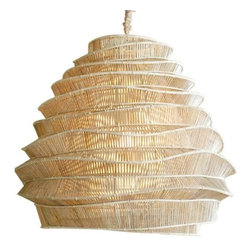 Bamboo Cloud Chandelier - Cumulus Tall -