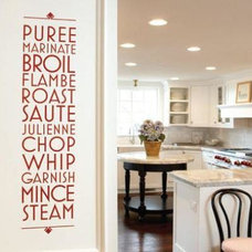 Contemporary Wall Decals by Uppercase Living Ind. Demonstrator Jean Danieu