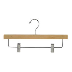 Proman Products - Proman Products Pant Hanger with Clips in Natural - Pant hanger with clips in natural finish. 50 per case