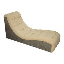 NOIR - NOIR Furniture - Skipper Chaise - GOF229MT - Features: