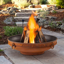 Real Flame - Real Flame Windham Fire Pit - The Windham Fire Pit will bring a natural air of quality to your outdoor space. Hand-made in the USA of mostly recycled material,this fire pit is made to last for years. Each nick and bump add to the distinct character,making each piece unique.