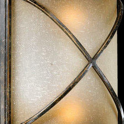 Quorum Lighting - Quorum Lighting 5518-27 San Sebastian Traditional Wall Sconce - Quorum Lighting 5518-27 San Sebastian Traditional Wall Sconce