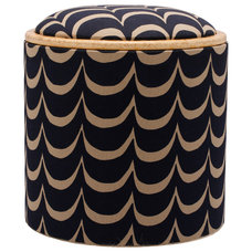 Eclectic Ottomans And Cubes by Patron Design
