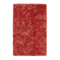 Kaleen - Kaleen Posh Collection PSH01-99 2' x 3' Coral - Posh is the perfect rug to make your feet say ooh and ahhh!! Super plush and silky to the touch, this hot new shag rug is exactly what your room has been asking for! Find the perfect spot to curl up on after a long day or bring in your favorite pop of color for a complete room makeover. The Posh collection allows for diversity and fashionable style for all of your decorating needs with over 20 colors to choose from. Each rug is handmade in China of the finest 100% polyester.