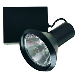 Nora Lighting - Nora NTM-5338/100 100W PAR38 Cone CMH Track Light - CMH fixture with streamlined conical design.