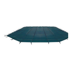 Blue Wave - Blue Wave 18 ft x 40 ft 12Yr Mesh Safety - Green - 12-year mesh Arctic Armor safety cover guards your children and pets as it protects your pool! durable, long-lasting Arctic Armor covers are strong enough to support your entire family, yet light enough to put on or remove from your pool in five minutes or less. Arctic Armor covers are made of super-strong two-ply mesh with a break strength of over 4,000 lbs. During use, the cover is held in place with brass anchors. These anchors recess flush with the deck when the cover is not in use. Rest assured that your children and pets are protected from accidental drowning. In addition to its safety features, Arctic Armor affords excellent winter protection for your pool.