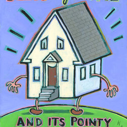 Hal Mayfoth - Bless My Home and It's Pointy Little Head - Picture