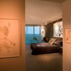 Eclectic Bedroom by DKOR Interiors Inc.- Interior Designers Miami, FL