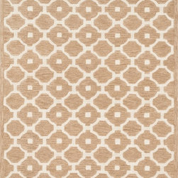 "Loloi Rugs - Loloi Rugs Brighton Collection - Beige, 5'-0"" x 7'-6"" - There are geometric rugs and then there is the striking Brighton Collection, which sets a new standard for geometric style. Hand-tufted in India, 100% wool yarns are hand-dipped into rich dye lots, producing lively colors that pair fabulously with its playful patterns. Brighton also combines a cut and loop pile, creating a mix of heights and textures for added visual interest. Available in 12 playful designs."