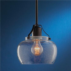 Modern Industrial Glass Pendant - Shades of Light