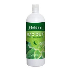 Biokleen - Biokleen Bac-out Stain And Odor Remover - Case Of 12 - 32 Oz - Pets-Wine-Diapers-Laundry- And More