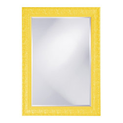 Howard Elliott - Melissa Mirror - Our Melissa Mirror features an ornately carved rectangular frame that is finished in a Custom Painted vibrant white lacquer with a glossy finish.