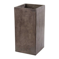 Lazy Susan - Lazy Susan Al Fresco Concrete Planter - Simplicity And Function Meet In The Use of Modern Materials Al Fresco Collection. Formed From Lightweight Concrete The Modular Basic Elements of The Cubo Collection Ensure Everyones Individuality Comes To Life. The Concrete Is Lightweight And Waxed For Durability. Suitable For Indoor And Outdoor Use/ We Recommend It Be Waxed Every 4 -  6 Weeks With A Pariffin Based Wax If Fully Exposed To The Elements.
