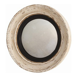 Arteriors Home - Saintes Painted Hand Carved Solid Wood Convex Mirror - DR2024 - Saintes Collection Mirror