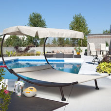 modern day beds and chaises by Hayneedle