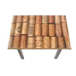 My Méz - Wine Cork Table/Wall Art - It's a table; It's wall art. It's BOTH, and It's Made In the USA!