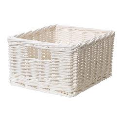 IKEA of Sweden - BYHOLMA Basket - Basket, white