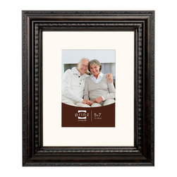 Origin Crafts - Royale gallery vintage brown matted picture frame (5x7) - Royale Gallery Vintage Brown Matted Picture Frame (5x7) Unmatted 8x10. High quality polystyrene frames, beveled matting, wall hangers. Dimensions (in): By Prinz - Prinz is a leading supplier of picture frames. At Prinz they are committed to offering unsurpassed design, quality, and value. Ships within five business days.