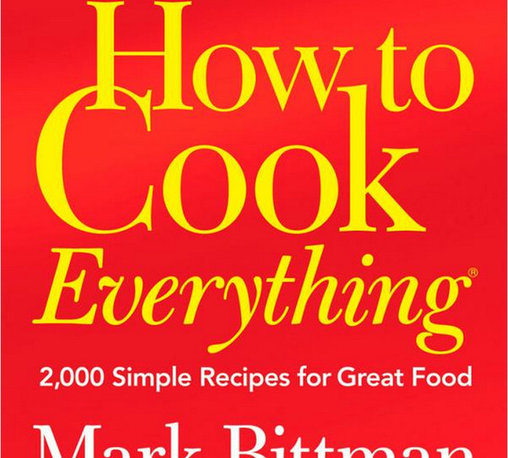 """How To Cook Everything"" - Start their cookbook library with this essential ""How to Cook Everything"" cookbook. It makes a wonderful wedding gift alongside a few baking tools and white dish towels. Classic, elegant and the perfect gift."