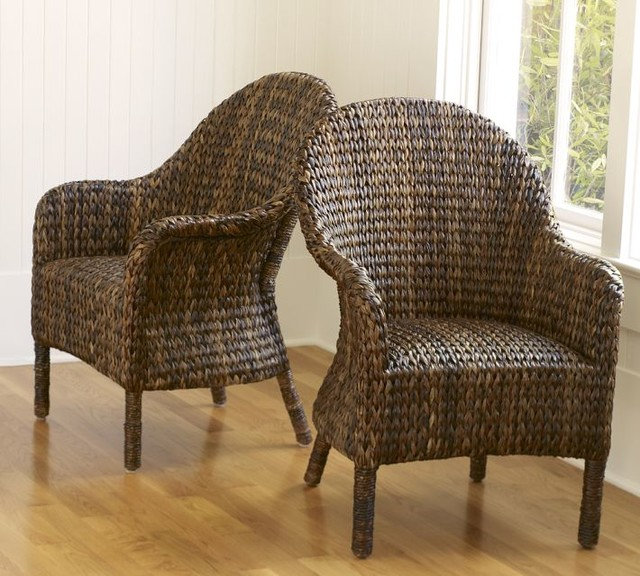 Contemporary Armchairs by Pottery Barn