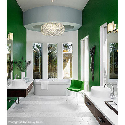 Modern Bathroom by Laura Britt Design