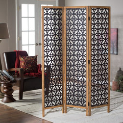 Belham Living - Belham Living Marrakesh Wood Frame Room Divider Multicolor - ZF140200 - Shop for Room Dividers from Hayneedle.com! Add an exotic touch to your living space with the Belham Living Marrakesh Wood Frame Room Divider. Found exclusively at Hayneedle this beautiful three-panel divider adds a distinctive visual to any room and is perfect for breaking up the feel of larger spaces. Made of wood and metal it features a black painted finish and a versatile pattern. Prop up the divider against a wall behind furniture or behind a bed for a gorgeous art piece or simply stand it up alone to break up a large space. This piece fits with most decor from traditional to eclectic pair it with other worldly patterns and designs to really make your room a stand out! About Belham LivingBelham Living builds catalog-quality furniture in traditional styles at a price that actually makes sense. By listening to our customers and working closely with great manufacturers we build beautiful pieces worthy of your home. Rich wood finishes attention to detail and stylish lines that tie everything together are some of the hallmarks of a Belham Living piece. From the living room or bedroom through the kitchen and out onto the deck there's something from an incredible Belham collection perfect for your style.
