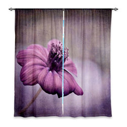 "DiaNoche Designs - Window Curtains Lined by Iris Lehnhardt Chocolate Cosmos - Purchasing window curtains just got easier and better! Create a designer look to any of your living spaces with our decorative and unique ""Lined Window Curtains."" Perfect for the living room, dining room or bedroom, these artistic curtains are an easy and inexpensive way to add color and style when decorating your home.  This is a woven poly material that filters outside light and creates a privacy barrier.  Each package includes two easy-to-hang, 3 inch diameter pole-pocket curtain panels.  The width listed is the total measurement of the two panels.  Curtain rod sold separately. Easy care, machine wash cold, tumble dry low, iron low if needed.  Printed in the USA."