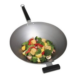 Joyce Chen 14 in. Carbon Steel Wok - About Columbian Home Products No one knows the ins and outs of the kitchen better than Columbian Home Products. Specialists in cookware, bakeware, canning, pizza pans, roasters, and even tea kettles, CHP sets high standards for all things delicious. From appetizer to dessert, they have your cookware. Their central location in Lake Zurich, IL, means fast delivery.