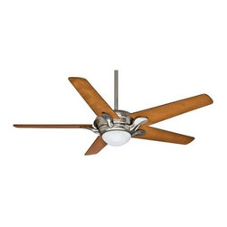 Casablanca 5907 Bel Air 56 in. Indoor Ceiling Fan - Simple luxury is right at home when you install the Casablanca 5907 Bel Air 56 in. Indoor Ceiling Fan. The streamlined, contemporary look gives any room a touch of graceful beauty, while the included light kit provides a warm glow. This five blade fan features 4 speeds so you can have it just how you like anytime. The convenient universal wall switch makes using it simple, and the ample 56-inch blade span is certain to cool the whole space. Choose from available finishes.About Hunter FanHunter Fan traces its origins back to 1886 when John Hunter and his son, James Hunter, maked the first water-driven celling fan in upstate New York. Today the company blends 19th century craftsmanship with innovative designs and technology to make fans of unmatched quality, style, and performance. Hunter Fans now has offices in three countries and retail outlets around the world. Hunter Fans offers style, comfort, and health for you and your family. Their fans are handcrafted from the finest materials to last a lifetime. Hunter ceiling fans function perfectly and always deliver proven performance. They also offers air purifiers and humidifiers to make a truly healthy environment for your family. Hunter fans are as beautiful as they are whisper-quiet and efficient.
