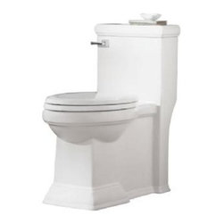 American Standard - American Standard Town Square FloWise Right Height Elongated One-Piece Toilet - American Standard 2847.128.020 Town Square FloWise Right Height Elongated One-Piece Toilet, White
