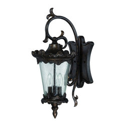 Craftmade - Craftmade Z7424 Kingston 3 Light Large Closed Bottom Outdoor Wall Sconce - Features: