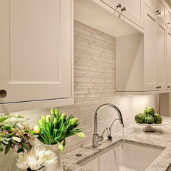 Kitchens / love this backsplash