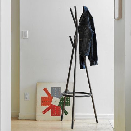 traditional coat stands and umbrella stands by West Elm