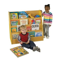 ECR4KIDS Colorful Essentials Big Book Display Stand - About Early Childhood ResourcesEarly Childhood Resources is a wholesale manufacturer of early childhood and educational products. It is committed to developing and distributing only the highest-quality products, ensuring that these products represent the maximum value in the marketplace. Combining its responsibility to the community and its desire to be environmentally conscious, Early Childhood Resources has eliminated almost all of its cardboard waste by implementing commercial Cardboard Shredding equipment in its facilities. You can be assured of maximum value with Early Childhood Resources.