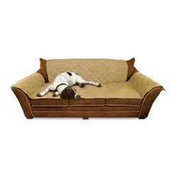 K&H Pet Products Furniture Cover Couch - Your comfy couch will stay nice and clean with the help of the K&H Pet Products Furniture Cover Couch. Made of 100 percent polyester micro suede, this machine-washable cover will successfully catch any loose animal hair and debris your lovable pet happens to bring into your home Available in your choice of two neutral colors, your pets will love to sleep on this cozy cover.