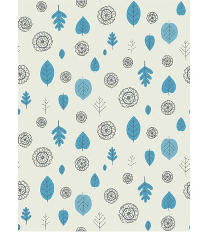 Contemporary Wallpaper by Juju Papers