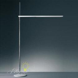 Talak LED Floor Lamp - Floor standing luminaire for direct task LED lighting.