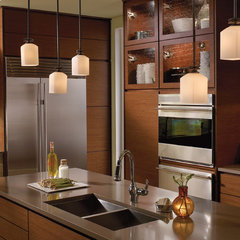 modern kitchen lighting and cabinet lighting by Kichler