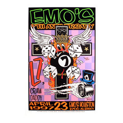 Art of Modern Rock Gig Posters -