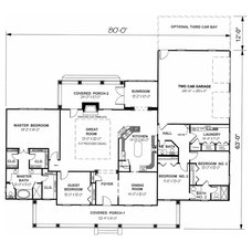 Floor Plan by DesignHouse Inc - House Plans