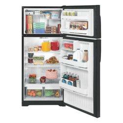 GE - GE 16.6 Cu. Ft. Top Freezer Refrigerator - Features: