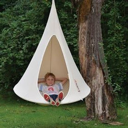 Cacoon Bonsai - This is a fort and a swing! Genius.