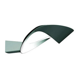 Mesmeri Wall Sconce - %The Mesmeri Wall Sconce by Artemide presents a three time award winning design from Eric Sole. Awards include: The 2007 Good Design Award, the 2006 IF Product Design Award and the 2006 Reddot Design Award. This beautifully styled wall sconce incorporates an elegant modern design with its mirror like specular reflection of light that are hidden in the inner curve of the oval die-cast aluminum shade. The Mesmeri Wall Sconce is a wall mounted luminaire perfect for indirect and diffused halogen Lighting. Materials: painted or chromed die-cast aluminum. The Mesmeri Wall Sconce pairs well with the Cabildo Wall Sconce by Artemide. Since 1959 Artemide has offered high quality products with a vast range of options that are perfect for creative and sophisticated commercial and residential applications.