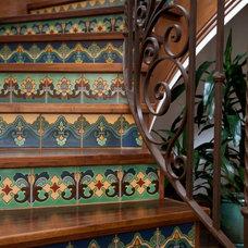 Traditional Staircase by Maraya Interior Design