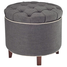 Contemporary Footstools And Ottomans by Joss & Main