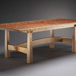 "Custom Furniture - Tables - ""Solide"" dining table"