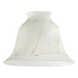 "Westinghouse Lighting - Westinghouse Lighting 2 1/4 Parchment Leaf Lamp Shade (4-Pack) (8136500) - Westinghouse Lighting 8136500 2 1/4"" Parchment Leaf Lamp Shade (4 Pack)"