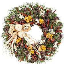 Traditional Wreaths And Garlands by White Flower Farm